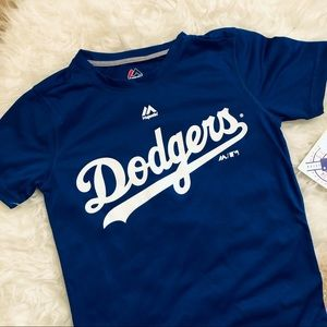 Majestic Dodgers T-shirt size small
